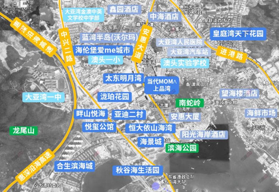秋谷海生活园配套图