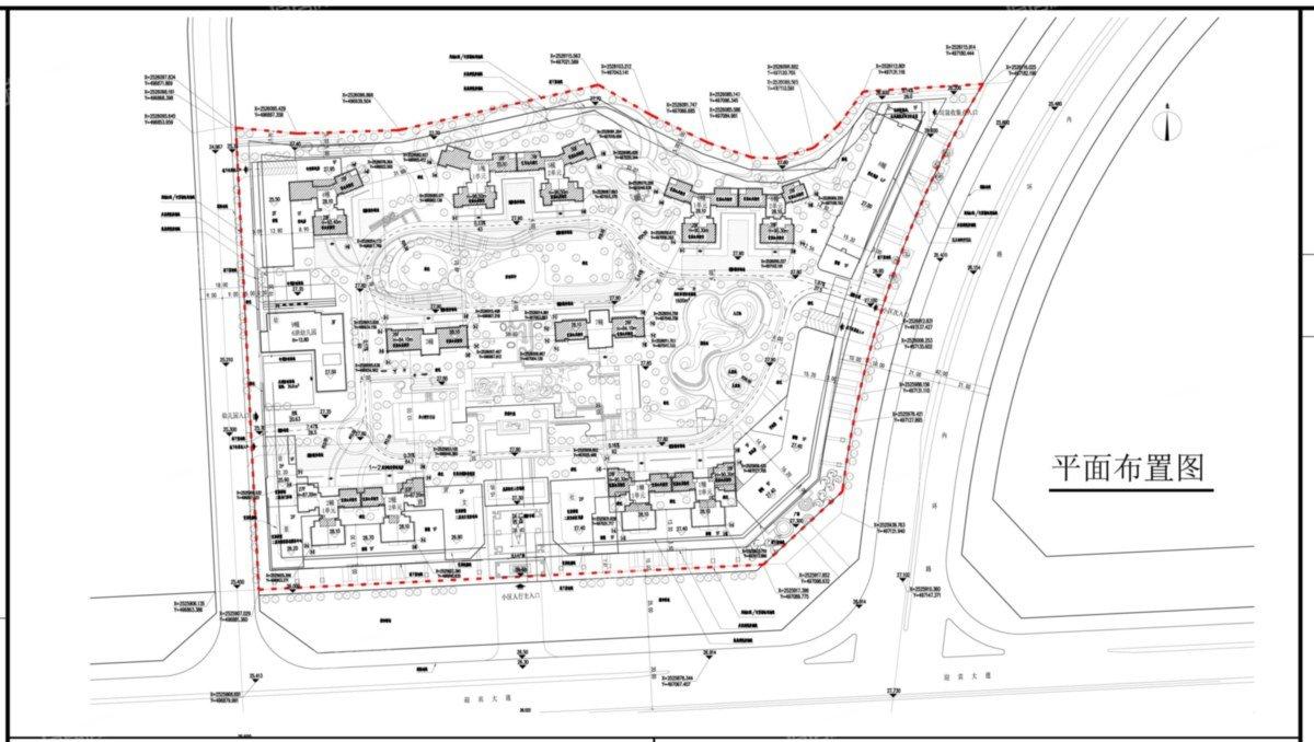 秋谷同成花园规划图