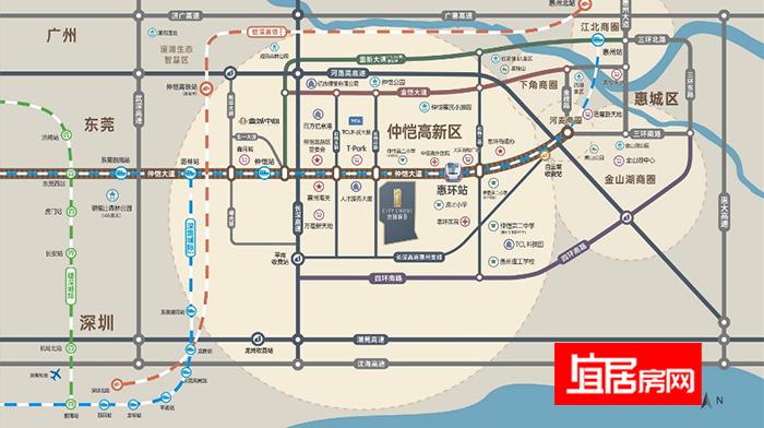 beplay体育客户端下载昊翔源壹城峰荟交通图