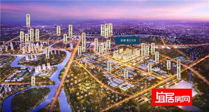 龙湖春江天境规划图