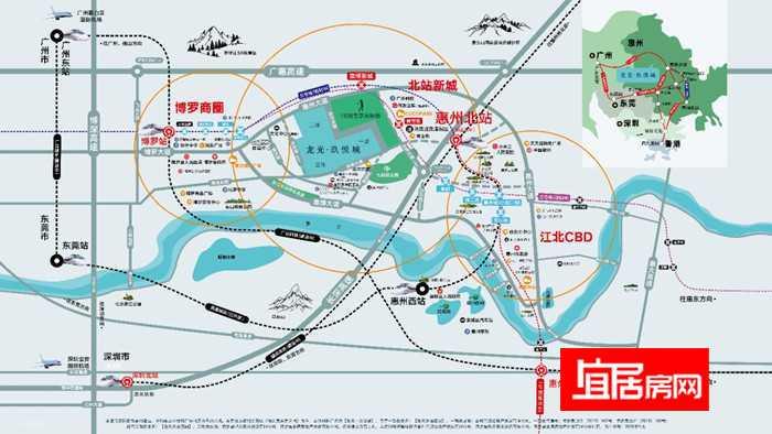 龙光玖悦城交通图