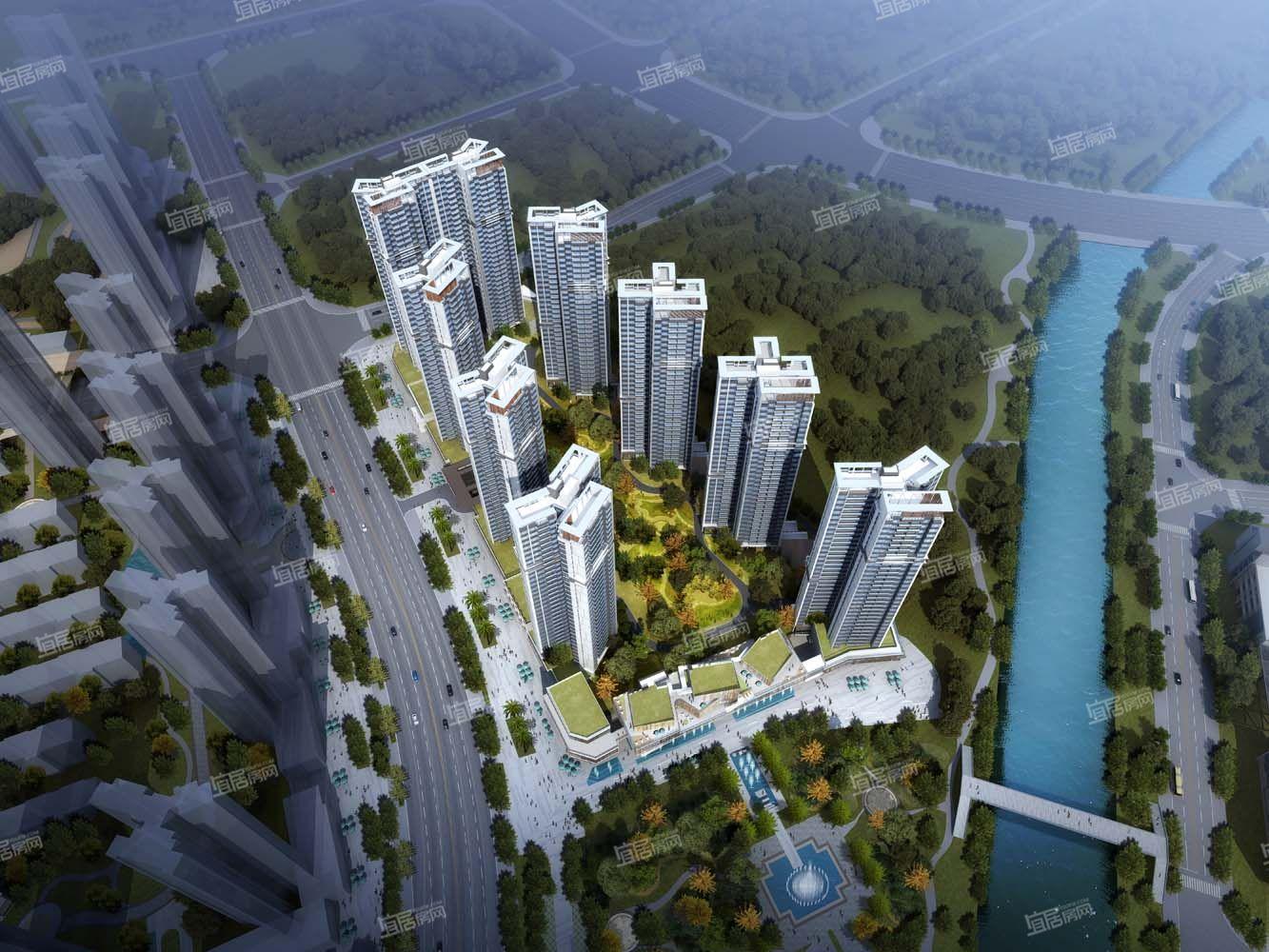 中洲公园城一期效果图
