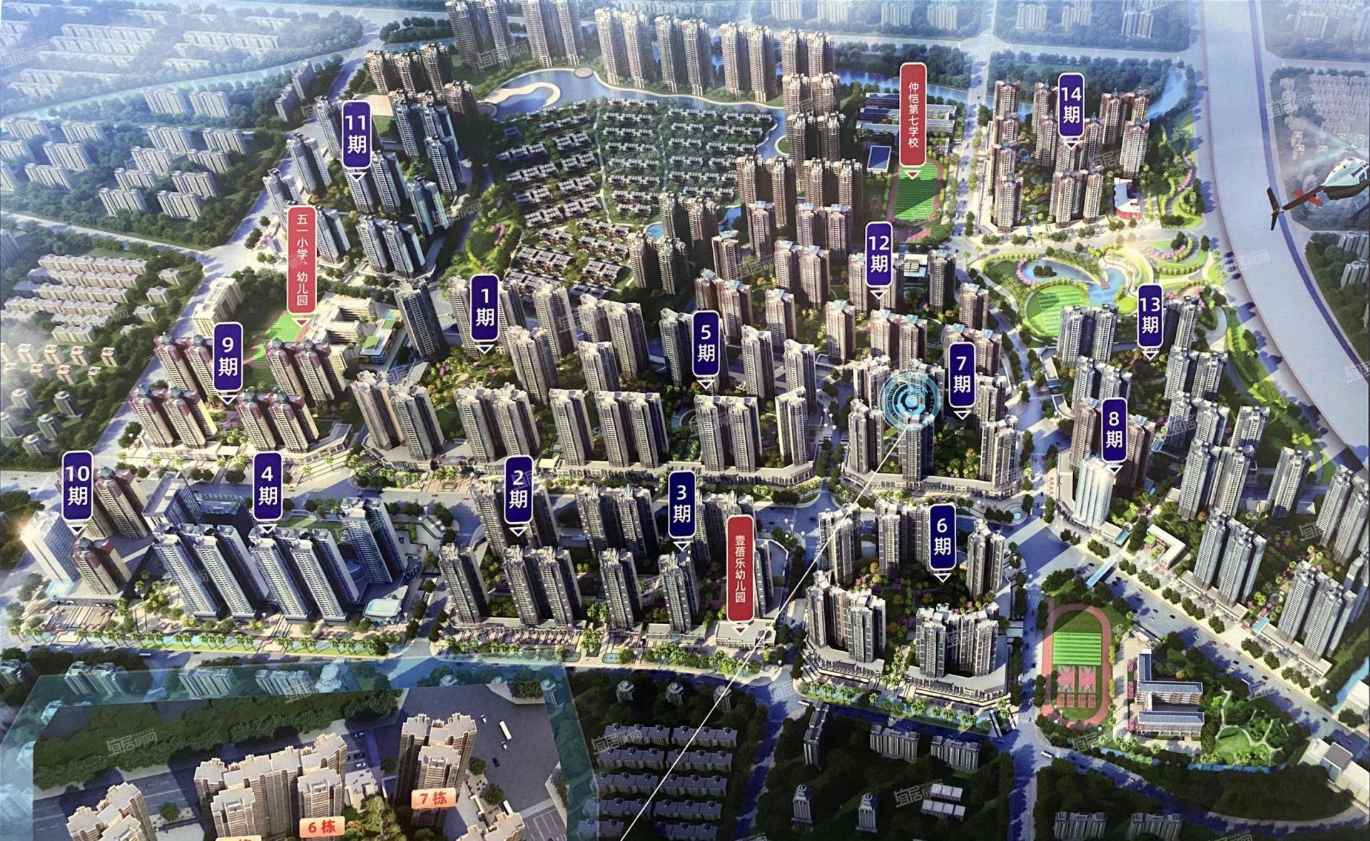 昊翔源壹城中心7期新品热销中,建面约88-127㎡