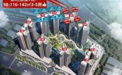 【最新动态】鸿润腾韵花园加推9#建面户型98㎡-116㎡-142㎡,9#加推后仅有10号楼未售!